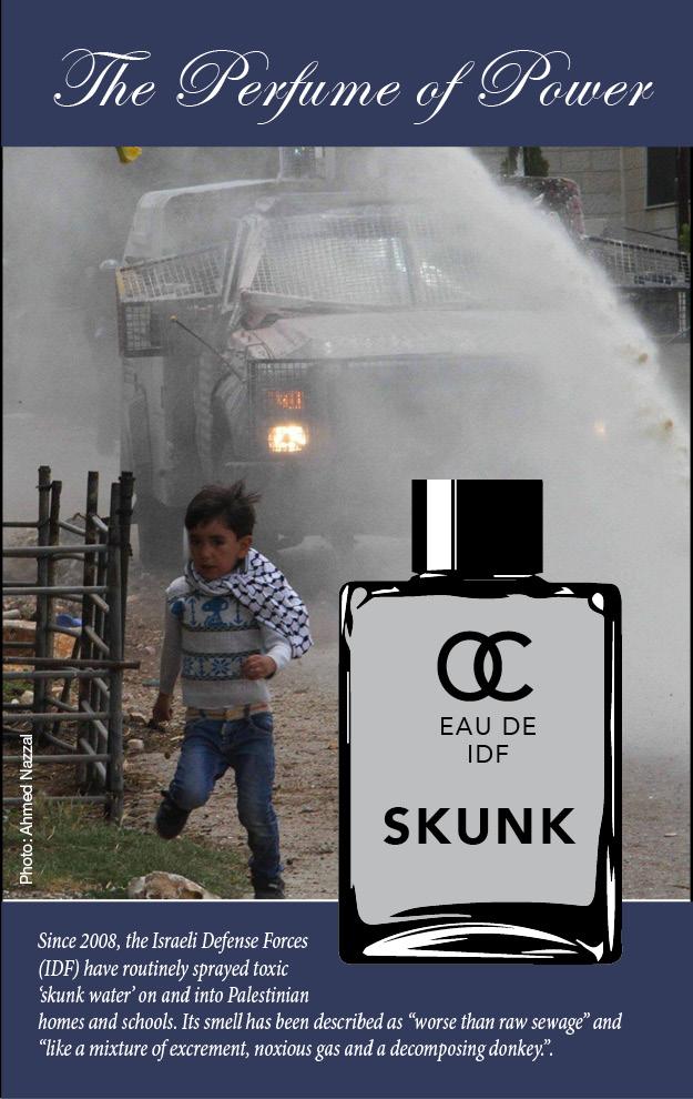 Image result for israeli skunk spray poster